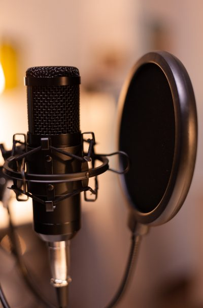 Professional microphone for podcast